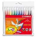 Feutre de coloriage Stabilo Power Max Pointe large.pochette de 12 feutres dessin Coloris assortis