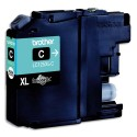BROTHER LC-125C (LC125C) Cartouche jet d'encre HC cyan de marque brother LC125C (LCX125C)