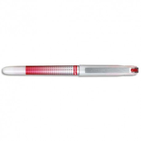 Stylo roller Uniball Eye needle point pointe aiguille coloris rouge
