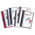 Chemise de présentation Durable Duraclip à clip capacité 60 feuilles A4 coloris assortis