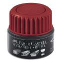 Marqueur permanent Faber Castell 1504 et 1505 recharge rouge