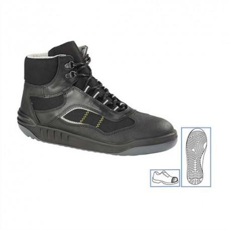 PARADE Paire de Chaussures Linea haute, tige en cuir et toile Pointure 46