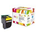 LEXMARK C540HYGG Cartouche toner jaune compatible de marque OWA C540H1YG