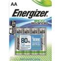 ENERGIZER blister de 4 piles aa LR06 adv E300130701