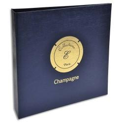 EXACOMPTA Album Capsules de champagne (capacité : 100). 5 feuillesx20 cases+5 intercalaires. 25x25cm