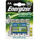 ENERGIZER blister de 4 accu power+ aa HR6 2000mah 638622