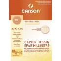 Papier millimétré Canson bloc 25 feuilles millimétré format A4 90 grammes