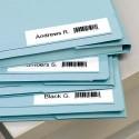 DYMO Cassette D1 (40914) ruban impression bleu sur fond blanc 9mmx7m pour étiqueteuse Dymo