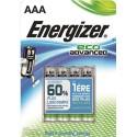 ENERGIZER blister de 4 piles aaa LR03 adv E300128101