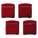 DAHLE Set de 4 Tête de coupe pour rogneuse 505 00967-10524