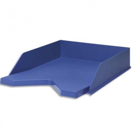 JALEMA Corbeille à courrier RE-SOLUTION en PP recyclé. Dim: L25,6 x H6,5 x P33,5 cm. Coloris bleu