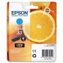 T3302 (T330240) EPSON Cartouche jet d'encre Cyan de marque Epson C13T330240