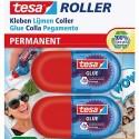 TESA mini roller colle ecologo. Sans solvant. 100% plastique recyclé. 80% carton recyclé. 6Mx5mm