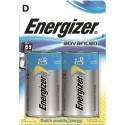 ENERGIZER blister de 2 piles d LR20 adv  E300129700