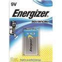 ENERGIZER blister de 1 pile 9v 6LR61 adv E300116700