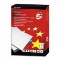 5 ETOILES Ramette de 500 feuilles papier blanc Premium format A4 80 grammes CIE 172