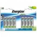 ENERGIZER blister de 8 piles aa LR06 adv E300116500