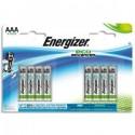 ENERGIZER blister de 8 piles aaa LR03 adv E300116300