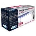 GPV Boite de 100 enveloppes format DL+ 112x225mm 90g SECURE fermeture autoadhésive ss bande protectrice