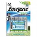 ENERGIZER Blister de 4 piles AA LR6 Eco Advended E300130703