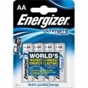 ENERGIZER Blister de 4 piles LITHIUM AA LR6 Ultimate lithium 639155