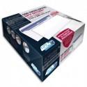 GPV Boite de 500 enveloppes format DL+ 112x225mm 90g SECURE fermeture autoadhésive ss bande protectrice