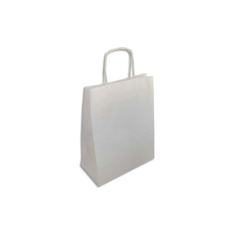 emballage paquet de 250 sacs en papier kraft blanc dimensions l32 x h38 x p15 cm direct. Black Bedroom Furniture Sets. Home Design Ideas