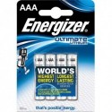 ENERGIZER Blister de 4 piles LITHIUM AAA LR03 Ultimate lithium 639171