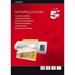 5 ETOILES Boîte de 100 pochettes à plastifier A5, 2x125µ 930213