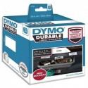DYMO Rouleau de 50 étiquettes LabelWriter Durable Noir/Blanc 59x102mm 1976414