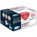 GPV Boite de 500 enveloppes format C5 162x229mm 90g SECURE fermeture autoadhésive ss bande protectrice
