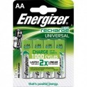 ENERGIZER Blister de 4 piles AAA HR03 Power plus recheargeable 700 mAh E300626600