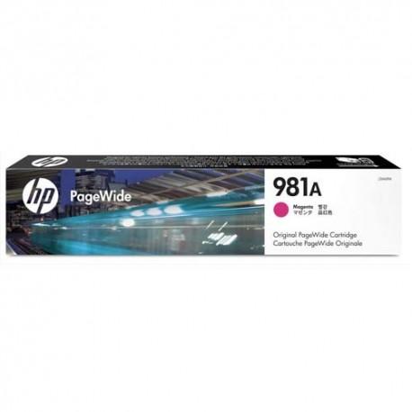HP Cartouche PageWide Cyan 981A J3M68A