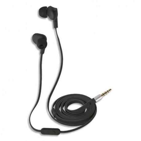 TRUST écouteurs AURUS intra-auriculaires noir 20834