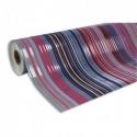 CLAIREFONTAINE Rouleau de papier cadeau PREMIUM 80g . Spécial commercant : 50x0,7m. Bayadère