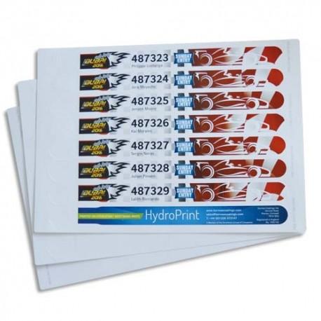 AVERY Sachet de 48 bracelets imprimables blancs 265 x 25mm