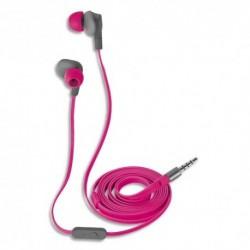 TRUST écouteurs AURUS intra-auriculaires rose 21019