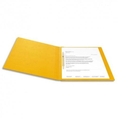 BIELLA Chemise à lamelle capacité 200 feuilles perforées, en carte lustrée assortis motif fleur 15020108