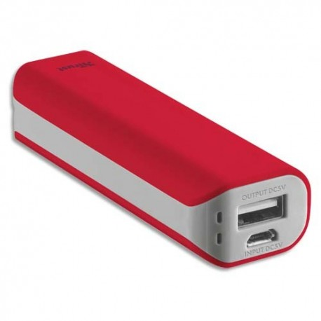 TRUST URBAN Chargeur PRIMO 2200 mAh rouge 21223