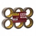 SCOTCH Ruban d'emballage Heavy en PP 57 microns - Dimensions : H50 mm x L66 mètres havane BP975