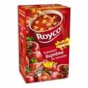 ROYCO Boîte de 20 sachets de potage Suprême de Tomates Crunchy
