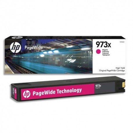 HP Cartouche Jet d'encre Magenta 973X F6T82AE