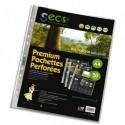SECO Sachet de 50 pochettes perforées PP grainé 8/100ème, 100% biodégradable et recyclable