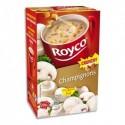 ROYCO Boîte de 20 sachets de potage aux Champignons Crunchy