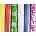 CLAIREFONTAINE Rouleau de papier cadeau 80g Printemps PREMIUM. 2x0,7m. 6 design assortis