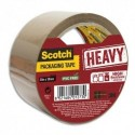 SCOTCH Ruban d'emballage Heavy en PP 57 microns - Dim : H50 mm x L50 mètres havane BP977