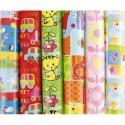 CLAIREFONTAINE Rouleau papier cadeau ALLIANCE 60g 2x0,70m 6 motifs enfants assortis