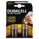 DURACELL Blister de 4 Piles Alcaline 1,5V AAA LR3 Plus Power 4099524