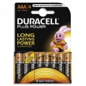 DURACELL Blister de 8 Piles Alcaline 1,5V AAA LR3 Plus Power 4099906