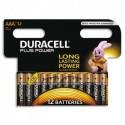 DURACELL Blister de 12 Piles Alcaline 1,5V  AAA LR3 Plus Power 4099371